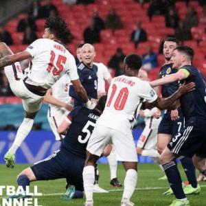 EURO2020 イングランド対スコットランド クロアチア対チェコ等 結果