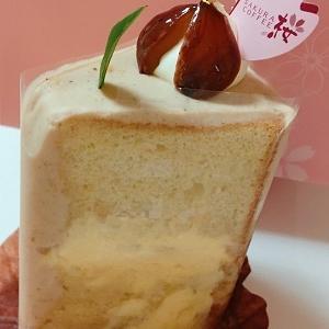 シフォンケーキが美味♪桜珈琲のケーキをテイクアウト♪