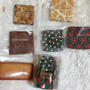 札幌ショコラティエの焼き菓子を頂きました!