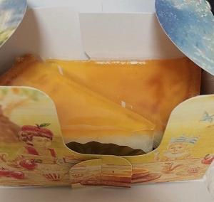 久しぶりに大阪ナンバーワンチーズケーキ「デリチュース Delicius」のチーズケーキを食べたらやっぱり美味しかった♪