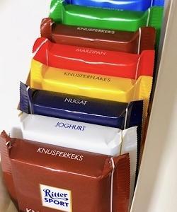 ドイツのチョコレートのリッタースポーツ ミニリッターアソートを全種類食べてみました♪