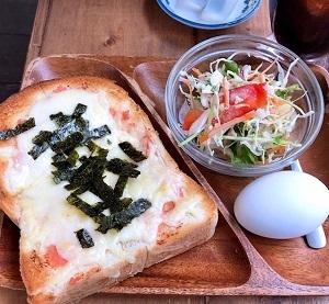 明太チーズトースト♪