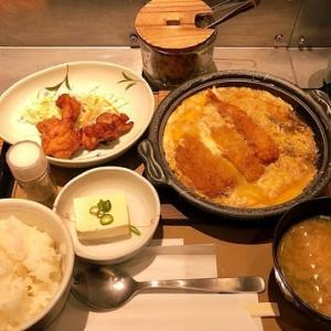 【やよい軒】ミックスとじ定食と唐揚げを食べました!
