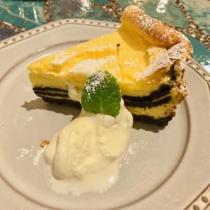 オレオ+チーズケーキby友安製作所カフェが最強すぎた!オレオチーズケーキしか勝たん♪