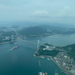 ゴミと言われて ~ 関門海峡に祈りの飛行