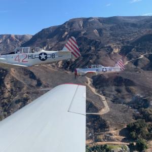 魂を乗せて飛ぶ ~ Veterans day