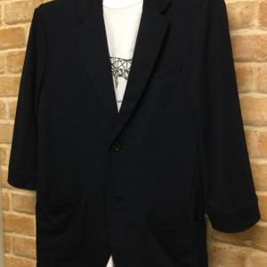 5分袖カットテーラードジャケット