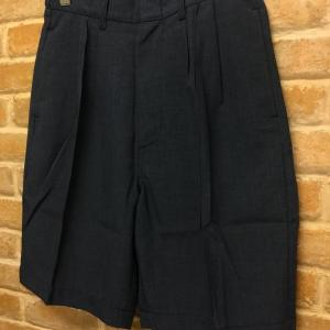 Connery PIN-TUCK WIDE SHORTS(日本製)