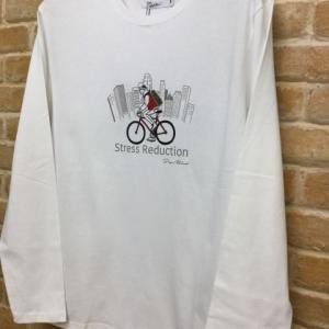 パッチクロスL/STee(bicycle)