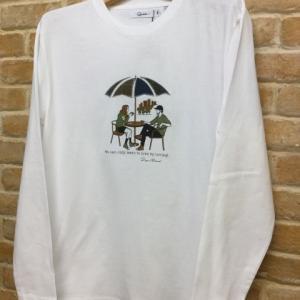 パッチクロスL/STee(parasol-W)