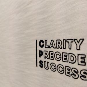 スラブプリントTee(CLARITY)