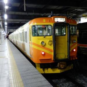 台湾自強号色のしなの鉄道115系