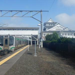 常磐線代行バス【浪江~富岡】とその周辺の様子