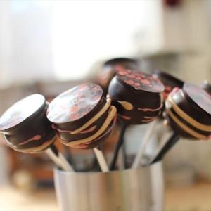 ケーキポップと抹茶生チョコのレッスン