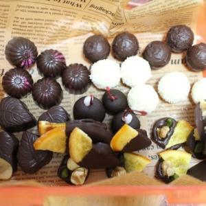 Bonbons Chocolats  ボンボンショコラのレッスン