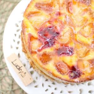 苺とフロマージュブランのパイ