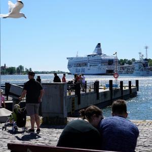 水の都 STOCKHOLM・空の旅