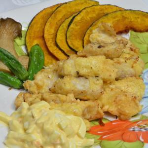 フィッシュ&野菜チップス