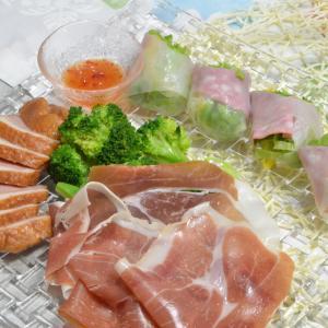 休日は、前菜を並べて簡単!お夕食