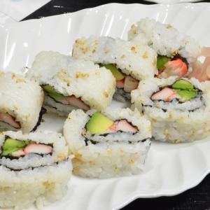 カリフォルニアロール&いなり寿司