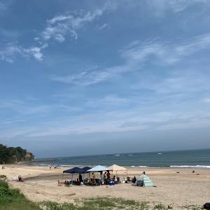 海辺の休日〜お弁当!