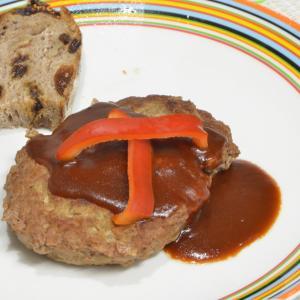 王道のハンバーグステーキ!