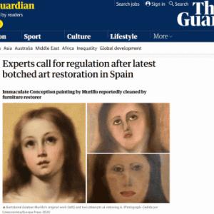 【悲報】スペインの教会のフレスコ画、15万円払って業者に修復してもらった結果w