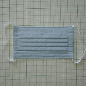 マスク作製14 プリーツマスク