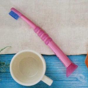 楽しく歯磨き動画!最後のポーズが可愛い★歯磨き嫌いな子供もきっと好きになる歯ブラシ