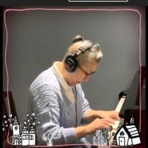 秦万里子さんによるリモート合唱団