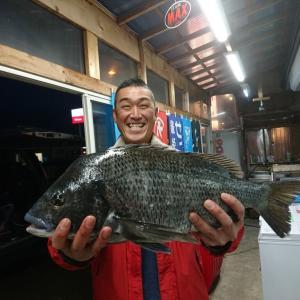黒鯛 54センチ!!