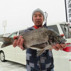 真冬の釣りヽ(´▽`)/