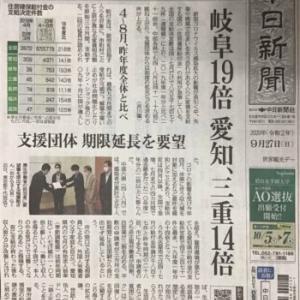 新型コロナの影響~住居確保給付金の申請者が急増???