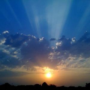 夕陽と共に(再掲載)