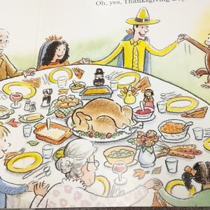 Thanksgiving Day園児さんの感謝したいことって?
