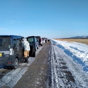 1月17日釧路ラジコン飛行場