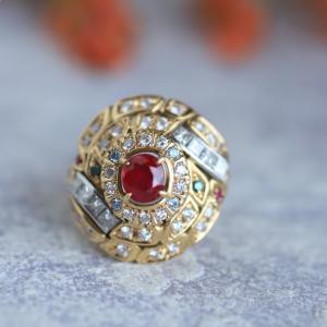 還暦のお祝いに赤い宝石、ルビーの指輪はいかが?
