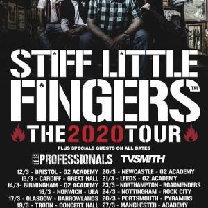 ザ・プロフェッショナルズがスティッフ・リトル・フィンガーズと2020年ツアー決定