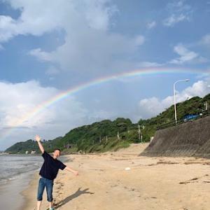 虹の橋が見えたぞ!