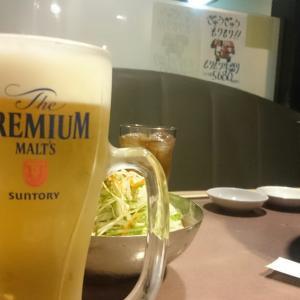 ビールと焼肉
