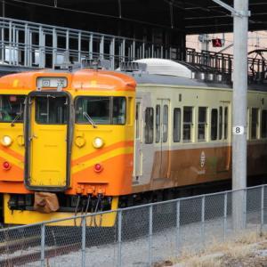 台湾カラーの電車