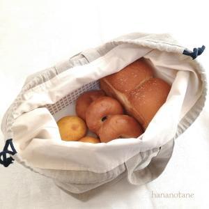 パン用リネンエコバッグ、販売開始しました♡