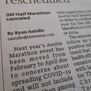 オースティンのマラソン事情