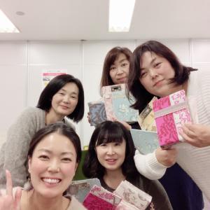 12/13名古屋カルトナージュクリエイティブコース開催しました!!