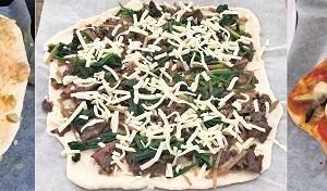 ピザを作りました♪