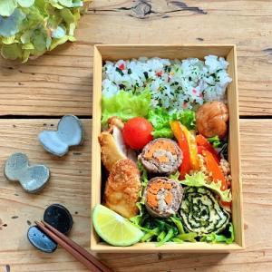 カルディの『上海焼きそば』のおうちごはん と 鶏ささみフライのお弁当
