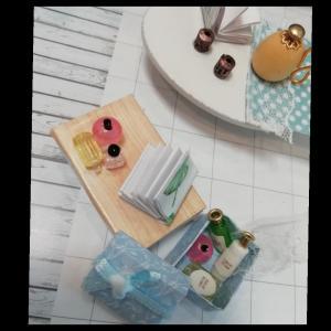 ミニチュアハウス 2軒目2 乙女な化粧箱