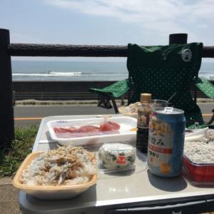 5月4日 静岡 リーフにビックリ御前崎サーフィンとマグロとしらす丼