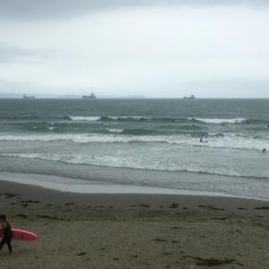 6月28日 磯ノ浦 割れづらい台風うねりで頭オバケに巻かれ祭り