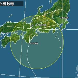 7月27日 伊勢 台風直撃を凌いで強オンショアがら空きサーフィン